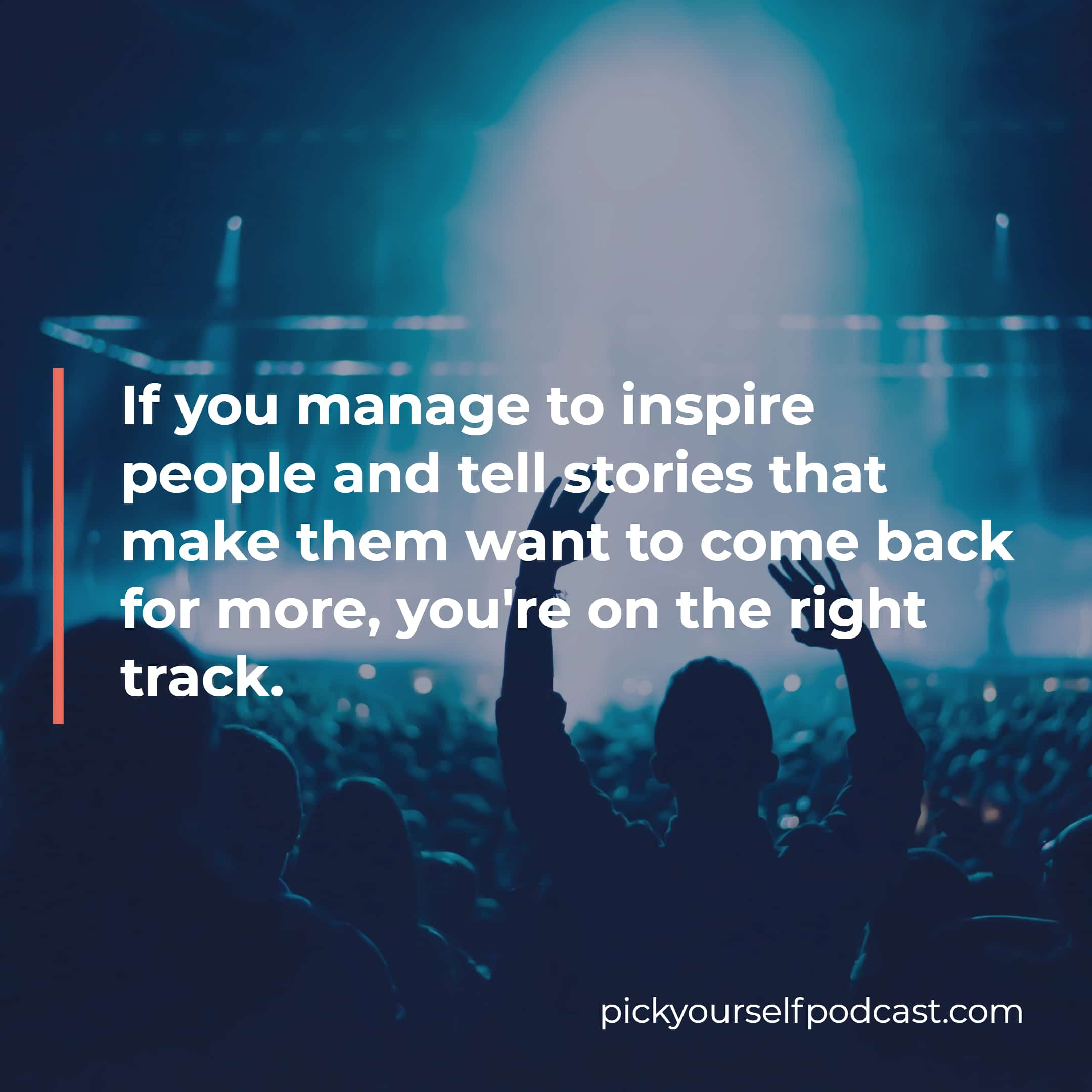 Every good social media strategy for electronic music producers focuses on inspiration and storytelling.