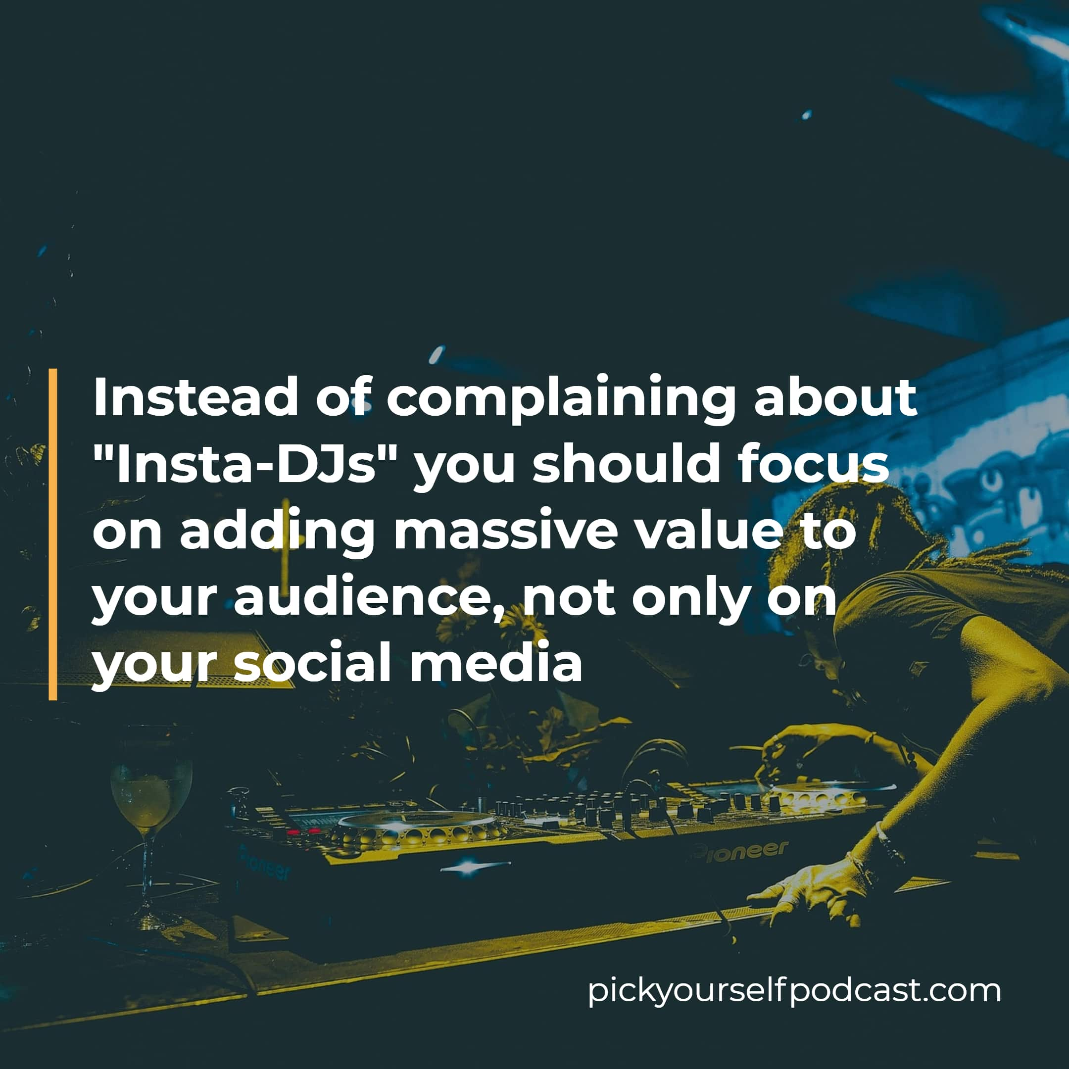 A social media strategy for artists should be about adding value to your audience.