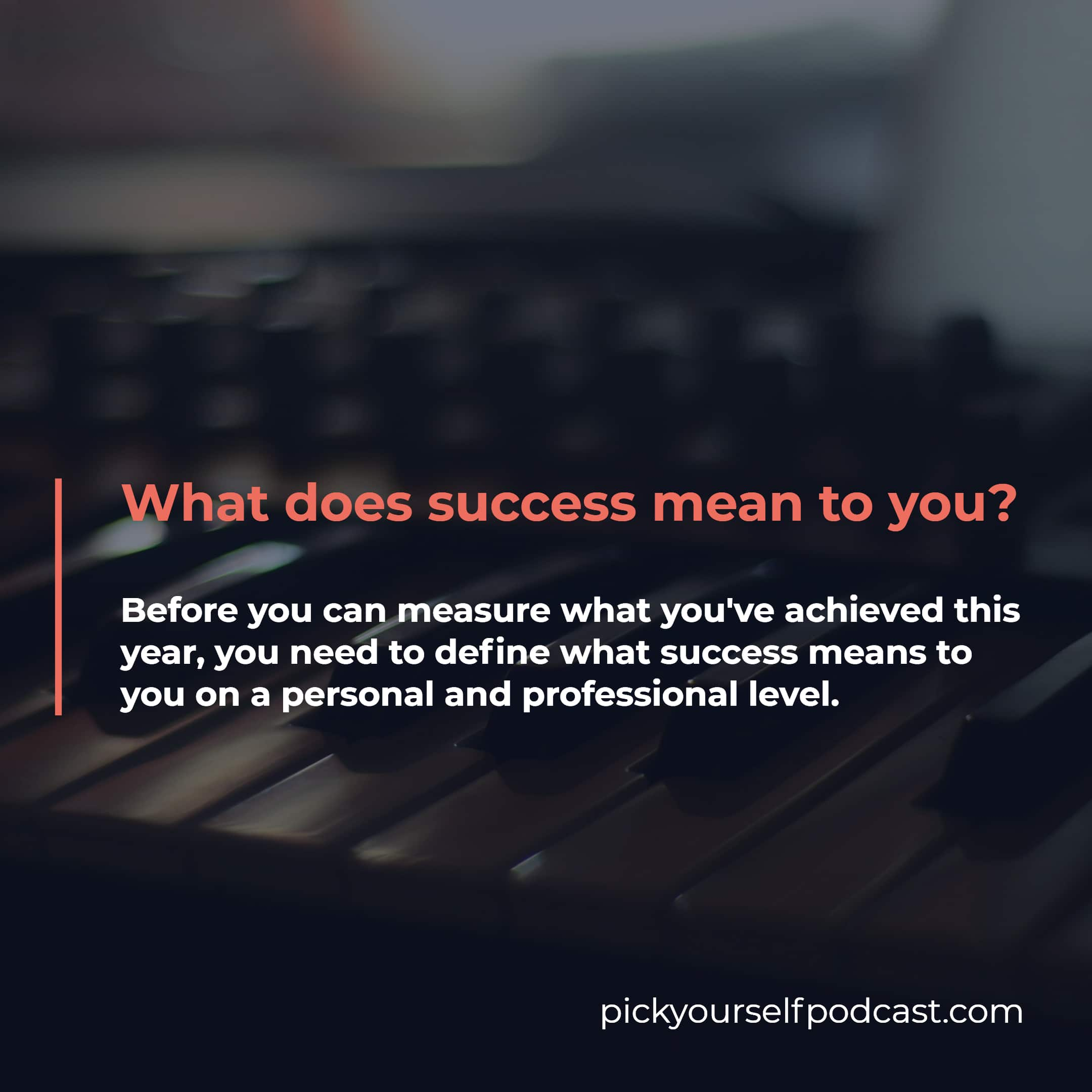 Measuring Success as an Electronic Music Producer or DJ visual 1. It says: What does success mean to you?