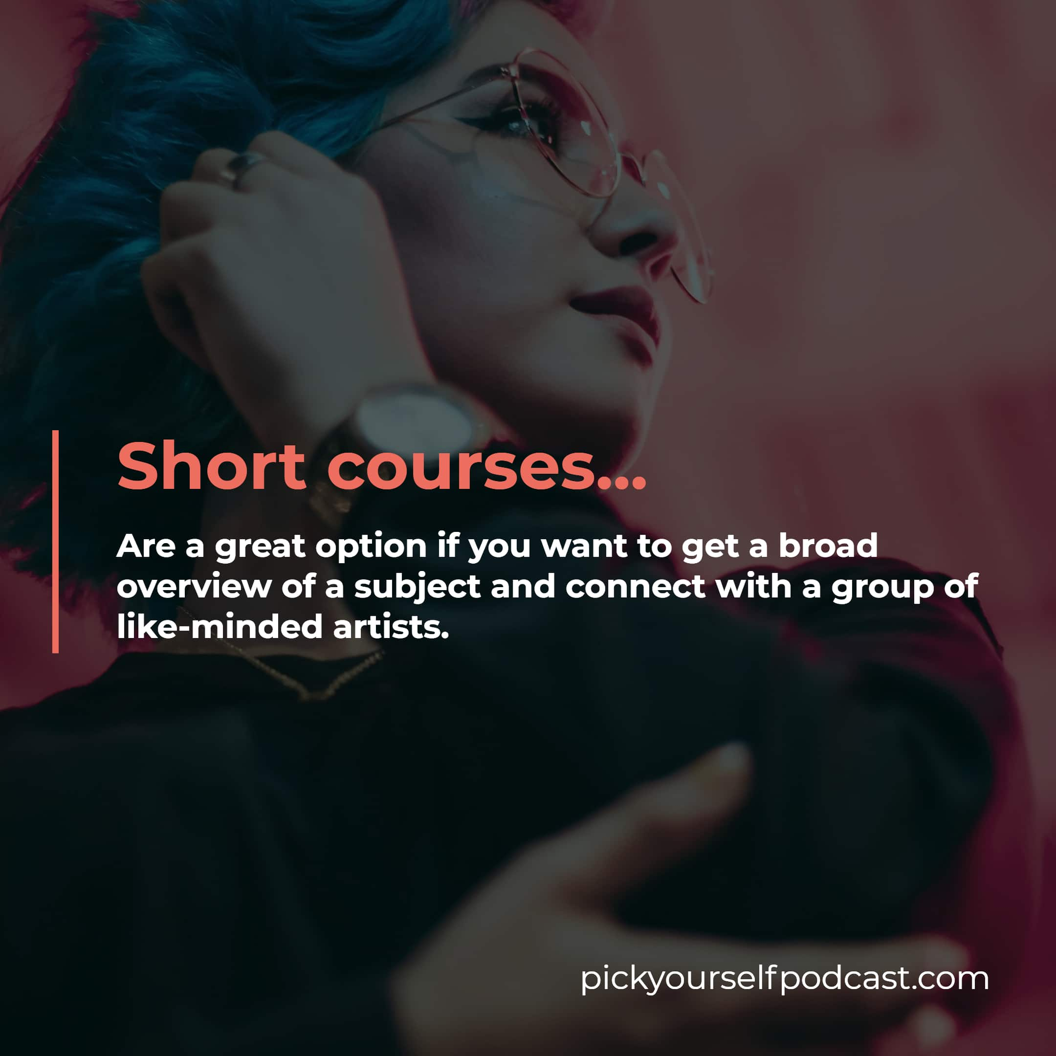 electronic music short courses are perfect if you want to get a broad overview of a subject.