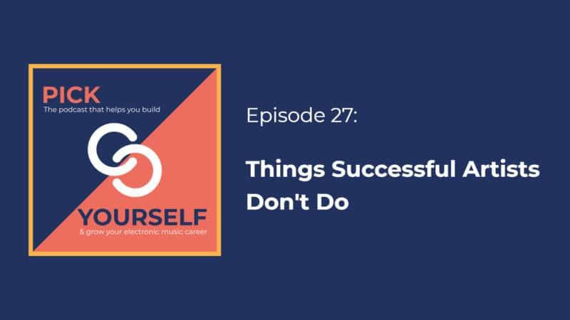 Things Successful Artists Don't Do
