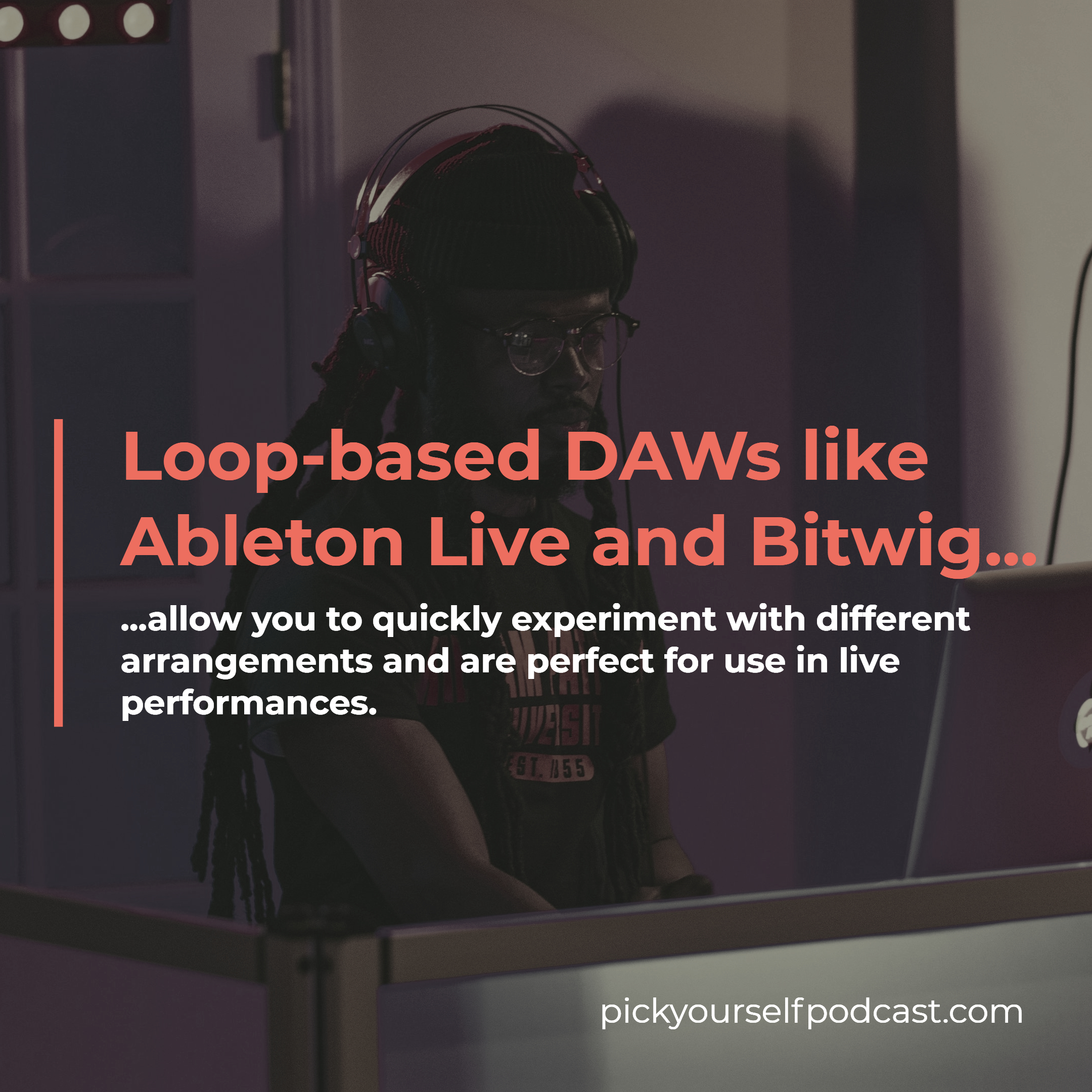 what is the best DAW for electronic music? Loop-based DAWs like Ableton and Bitwig allow you to quickly arrange in different ways.