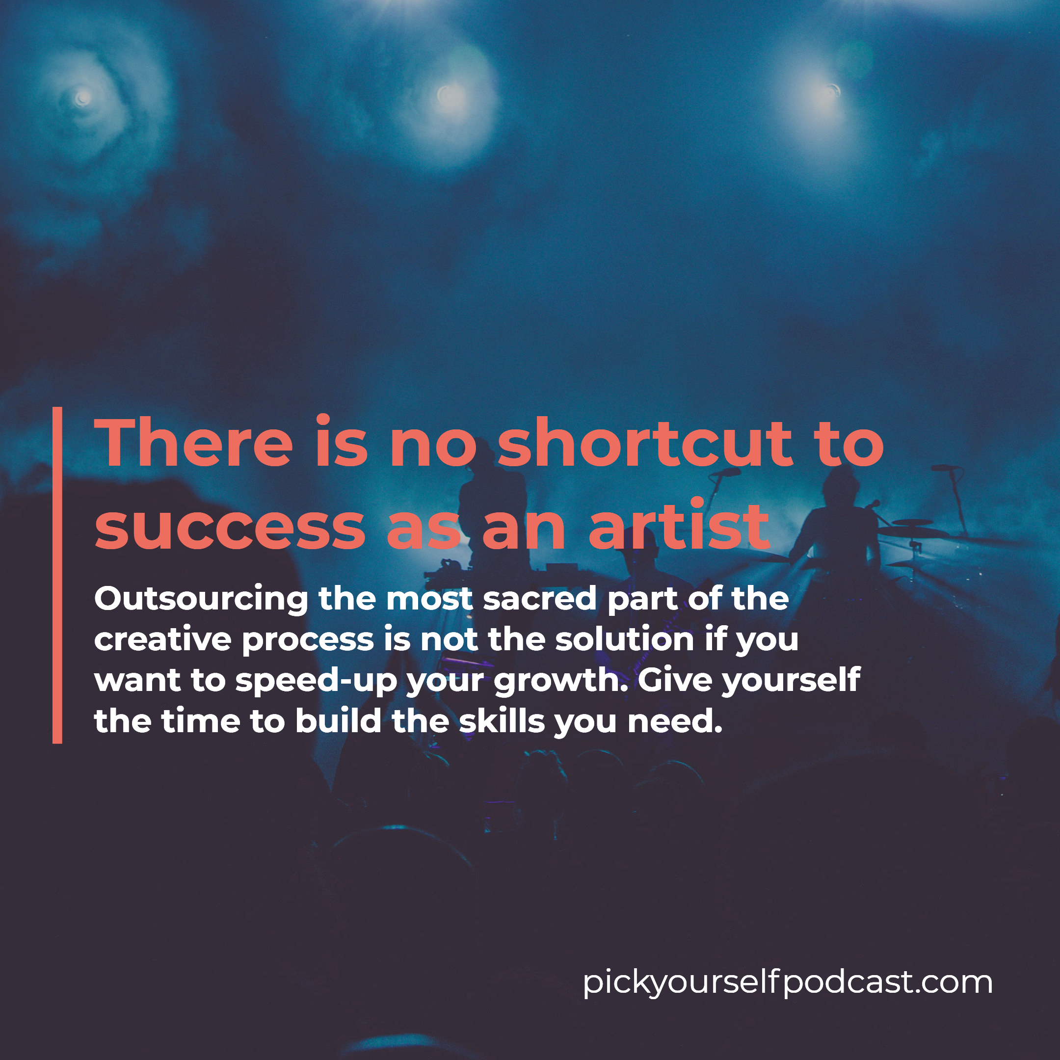 There is no shortcut to success as an artist. Outsourcing via ghost-producing electronic music isn't an option.