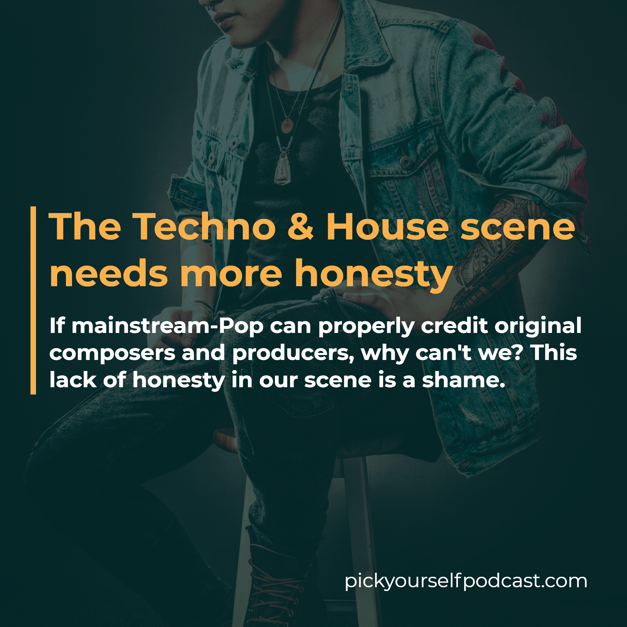 The Techno and House scene needs more honesty. Ghost-producing means no credit. We can learn from mainstream Pop here.