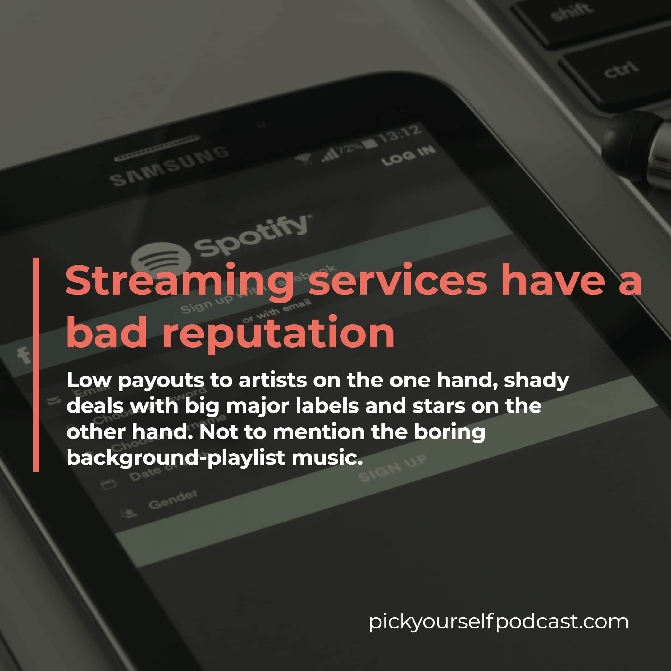 Is Spotify Bad For Artists? Streaming services have a bad reputation among upcoming artists.