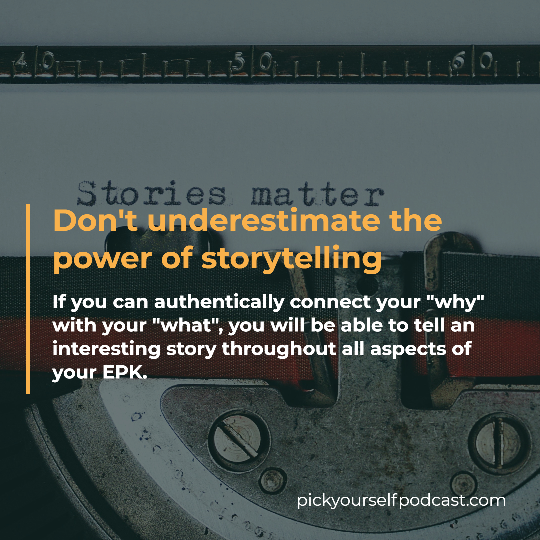 A music EP can benefit from the power of storytelling.